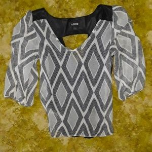 New adorable blouse by A.Byer small